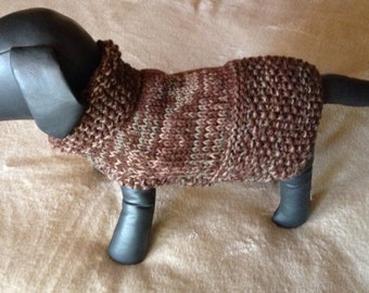 Woodland Dog Sweater Medium.