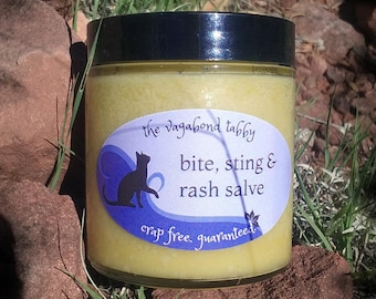 bite, sting & rash salve (big jar)