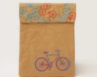 City Bikes Town iPad & Tablet Paper Sleeve