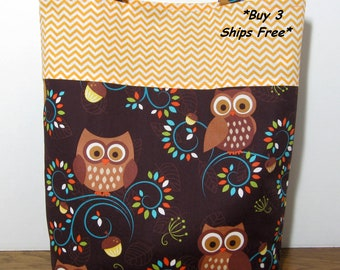 Travel Tote Beach Bag Student Tote Teacher Nurses Tote Owls