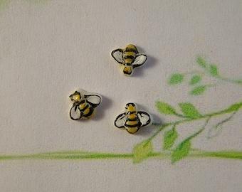 Tiny Bee Embellishment set of 3