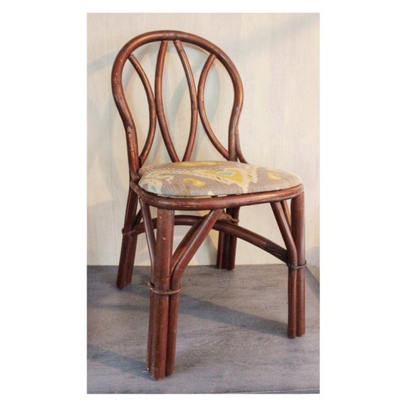 Etsy Vintage Bamboo Furniture: Items Similar To Vintage Rattan Chairs