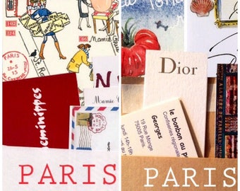 6 Paris letters and 6 Paris maps; a 6-month combo subscription