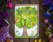 Sheltering Tree - Greeting Card