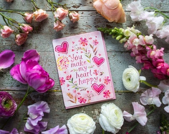 Heart Happy - Greeting Card