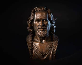 Bust of The Dude (The Big Lebowski) - 1/2 scale