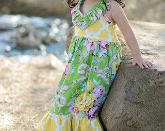 Toddler maxi dress | Etsy