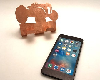 Ford 8N Tractor Cell Phone Holder Copper Tractor Desk Accessory Antique Ford Tractor items 8N Ford tractor lover mobile phones accessory