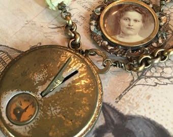 RESERVED FOR BB - Two Beautiful Nostalgic Victorian Necklaces
