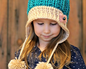 The Scrap Eater Hat Crochet Pattern
