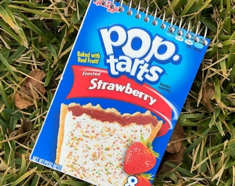 Cereal Box Journal - Strawberry Pop-Tart