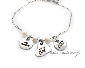 First Communion Bracelet First Communion Jewelry Gift for Little Girl First Communion Gift Communion Gift For Girl 1st Communion Bracelet