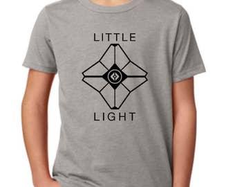 Destiny Youth Shirt - Little Light Shirt - Destiny Ghost Shirt - Kid's Gamer Shirt - Unisex - Gift for Gamer - Youth Gamer Shirt -