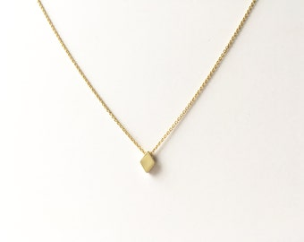 Solid Diamond Necklace