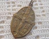 Vintage Medal Four Way and I am a Catholic