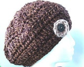 crochet pattern SLOUCHY HAT, NUM. 37, Adult size... Permission to sell your finished hats, instant download