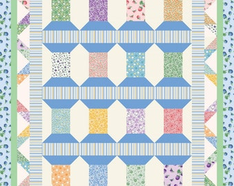 Cool Spools - Berries and Blossoms Quilt Kit.