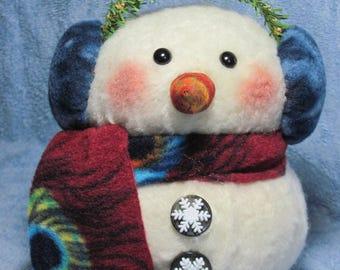 "Snowman pattern:  ""Tug"" - #444"