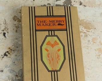 1952 MERRY MAKER Vintage Book Journal Notebook