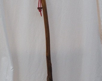 Stained walking stick