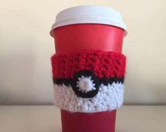 Pokemon Ball Drink Cozy, Drink Sleeve