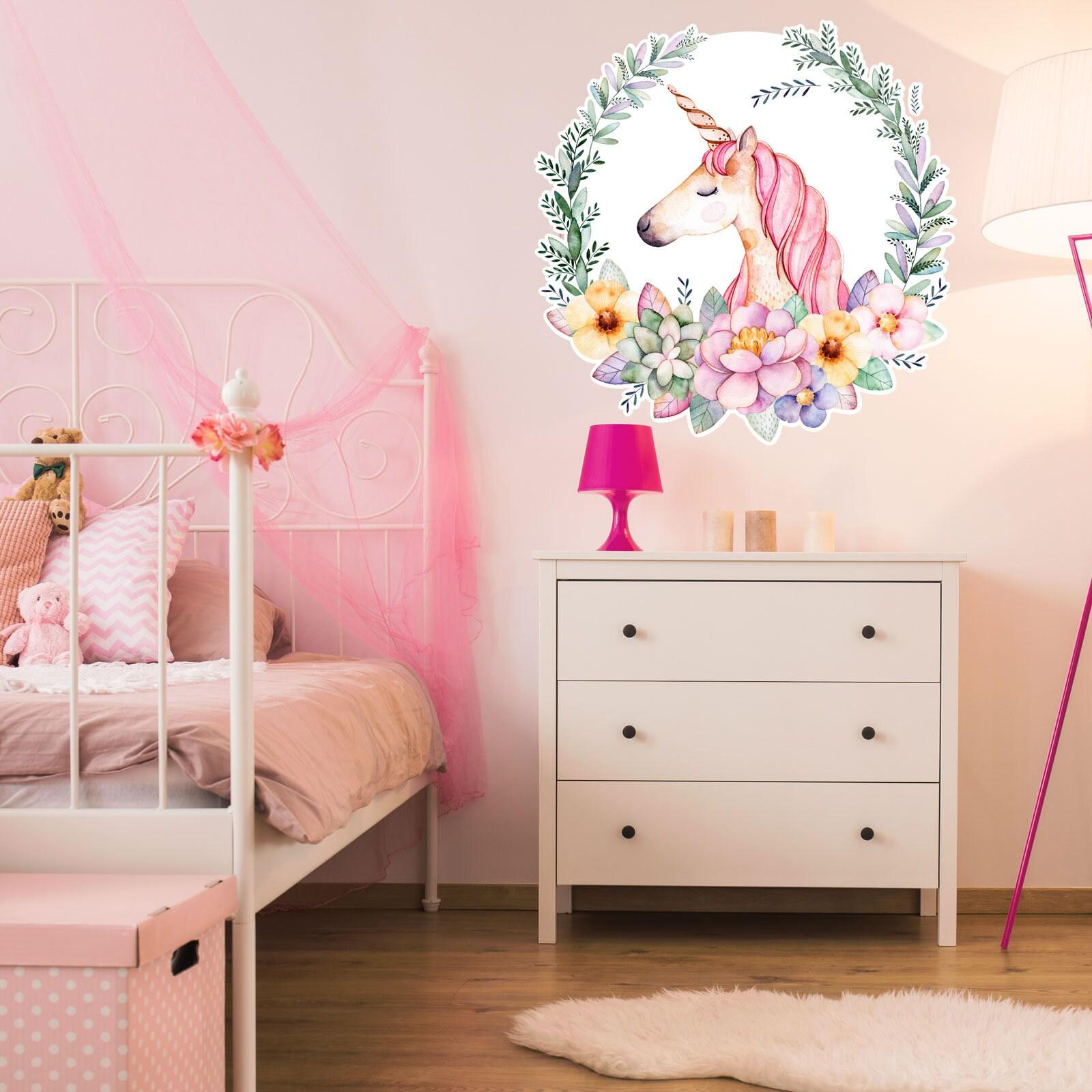 Unicorn Kids Decor Unicorn Nursery Decor Unicorn Wall Art