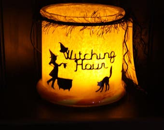 Witching Hour Eve Halloween Lantern