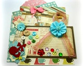 Carta Bella Homemade with Love Inspiration Kit/ Embellishment Kit/ for Scrapbooks Cards Mini Albums Planners Tags and Paper crafts