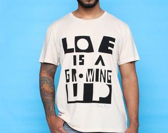 James Baldwin Tshirt - Dope Artist Shirt - Festival T-shirt - Black History Shirt in Organic Cotton - Eco Graphic Tee - Street Art Inspired