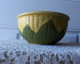 Shawnee Corn King - No. 6 Mixing Bowl, Made in USA, Collectible, Vintage Pottery, Native American, Dinnerware, Display, Gift Idea:  SCK-107