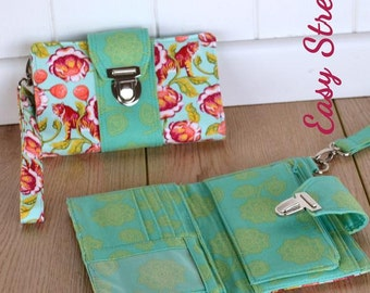 Brandt's Boulevard Wallet Sew & Sell Easy Street Pattern by ChrisW Designs