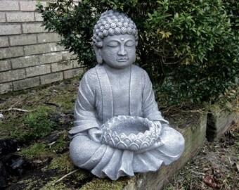 Buddha Statue, Garden Statues, Zen Garden, Concrete Buddha, Garden Decor,  Buddha