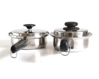 EHP Tri-Ply Cookware 1 qt Saucepan Ekco Home Products, Saladmaster 1 Quart Sauce Pan