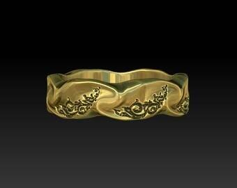 wedding ring  wedding band gold wedding rings gold wedding bands mens wedding ring ladies wedding rings wedding band for women ladies NWB1G