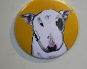 Bull Terrier Fridge Magnet Magnetic Personality Dog Lover Gift