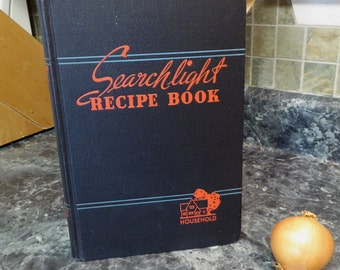 1949 Household Searchlight Recipe Book by The Household Magazine