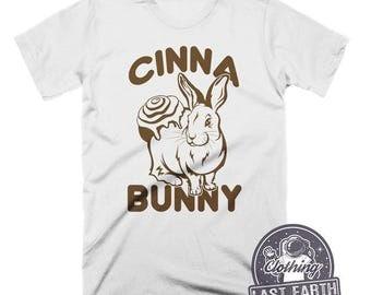 Cinnamon Bunny Shirt Funny Tshirts Easter Shirts Easter Bunny Mens Tshirts Kids Easter Gift Womens Graphic Tees Funny Shirts Easter Egg Hunt