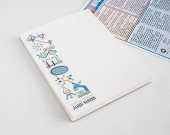 Biology Personalized Notepad/ Biology Teacher Notepad/ Biochemistry Notepad