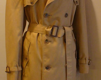 Vintage Christian Dior Monsieur Trench Coat Size 42 R