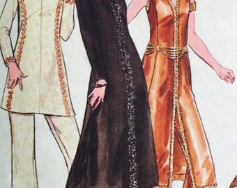 Butterick Vintage 5995 Misses one piece Evening Dress and Pants