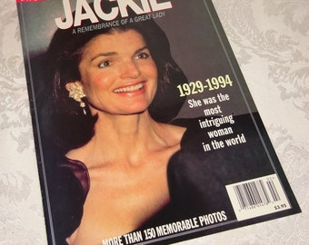 Ladies' Home Journal Magazine Jackie O 1994 Jackie Kennedy Remembrance of a Great Lady