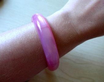 Beautiful 1960's Pink Lucite Bracelet