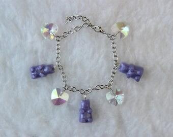Kawaii Gummy Bear Bracelet