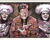 David S. Pumpkins Sketchcard