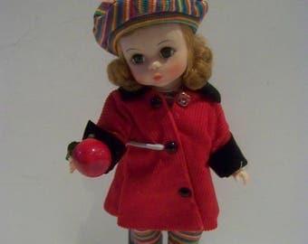 Apple for the Teacher Madame Alexander 7 1/2 in doll