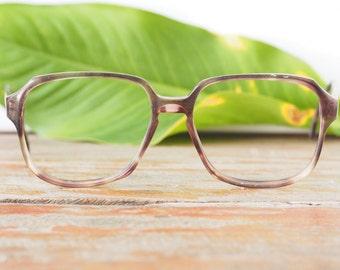 Eyeglasses Vintage 1970's Oversize Made By Rodenstock New Old Stock Frames Multi Color Glasses