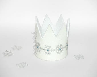 Frozen Princess Crown // Ice Princess Crown // The White Queen // Elsa Crown // by Born TuTu Rock