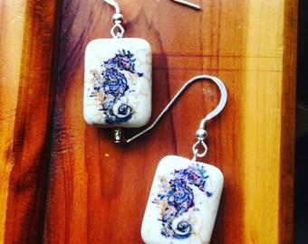 Seahorse Magic Earrings