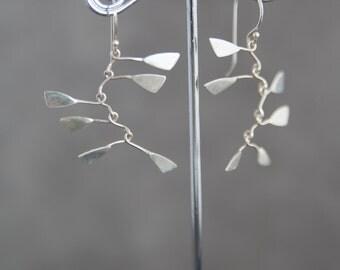Sterling Silver Mobiles Earrings