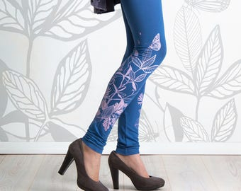 Glass Butterfly - leggings